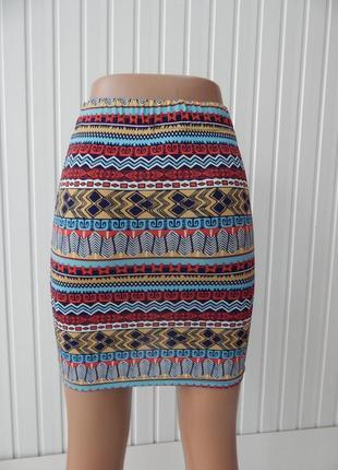 Летняя стильная юбка castro