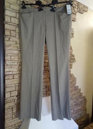 Классные прямые брюки,большой размер,высокий рост