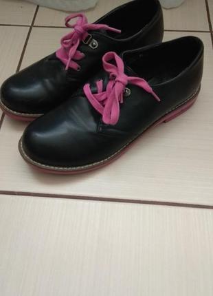 Туфли на низком