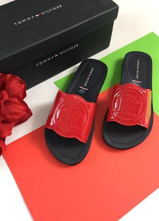 Шлепки шлепанцы сланцы обувь томми хилфигер оригинал
