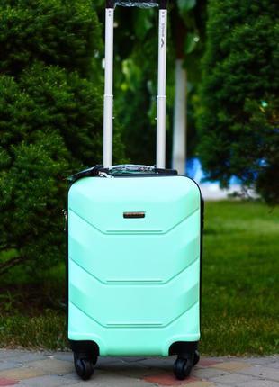 Качество! польша 100% оригинал! пластиковый чемодан внликий валіза велика пластикова