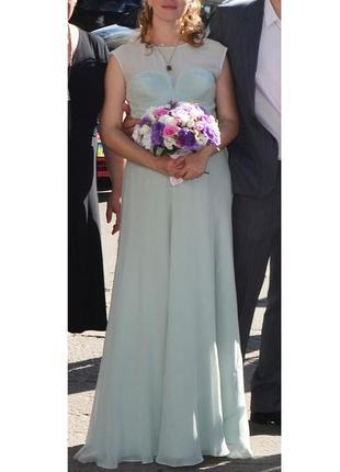Шелковое платье karen millen (m/l)
