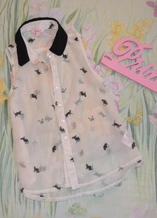 Летняя блуза 7-8 лет