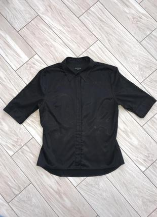Атласная рубашка с укорочённым рукавом от guess