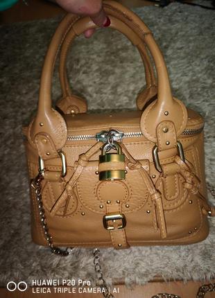 1ce298da05e2 Кожаная сумка chloe оригинал + босоножки muse italy р.37 Chloe, цена ...