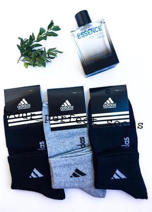 Носки мужские ароматизированные демисезонные спортивные adidas