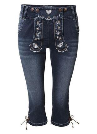 Женские джинсовые бриджи esmara евро 38