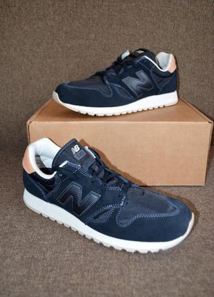 Кожаные кроссовки new balance 520v1