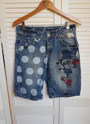 Стильные джинсовые шорты bsb jeans