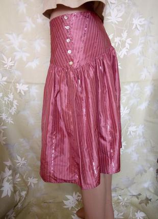 dc119d2cfa8 Шелковая юбка солнце клеш летняя