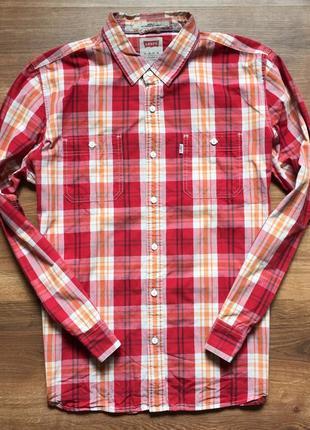 Шикарная рубашка от levi's