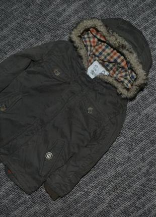 Куртка парка хаки
