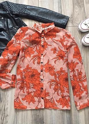 Красивенная блуза/рубашка river island