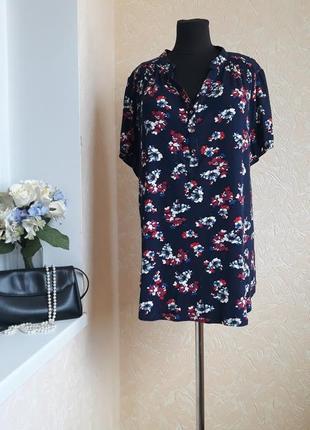 Блуза в цветочный принт george