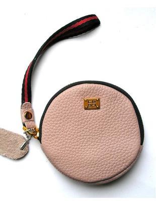 Кожаный клатч на руку, кошелек, ключница, 100% натуральная кожа, есть доставка бесплатно