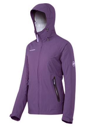 Женская треккинговая куртка дождевик штормовка mammut dry tech premium