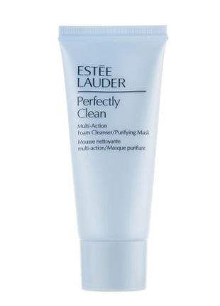 Estee lauder пенка для умывания и очищающая маска 2 в 1, 30 мл