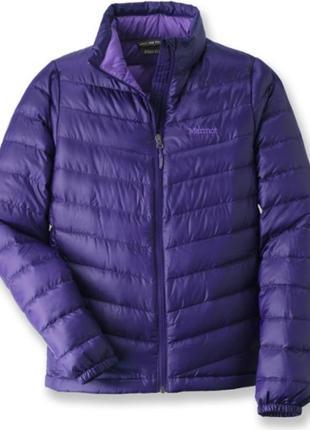 Женская куртка пуховик marmot 800 fill