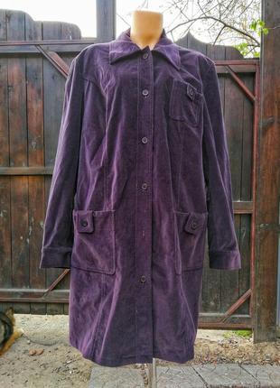 Бархатный длинный пиджак жакет блейзер стрейчевый коттон хлопок пальто летнее
