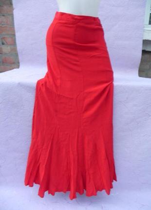 Красная юбка marks & spencer