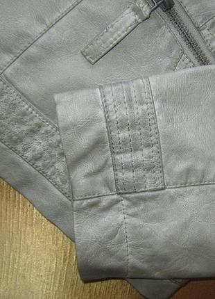 Бомба. крутая стильная куртка в байкерском стиле tchibo, германия - р. 48-50 укр.10 фото