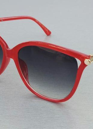 Jimmy choo очки женские солнцезащитные красные