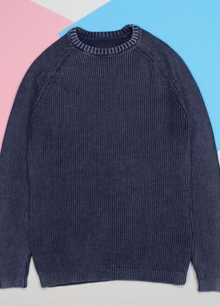 Четкий свитерок в оригинальном vintage-washed раскрасе