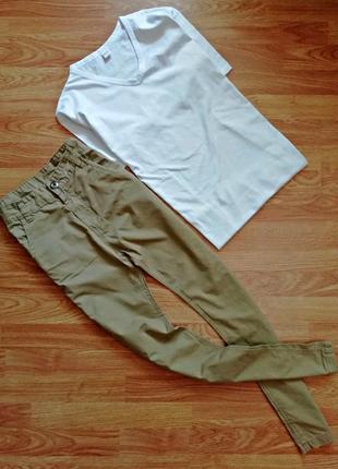 """Детские подростковые актуальные брюки """"сафари"""" чиносы для мальчика - рост 152-160 см"""