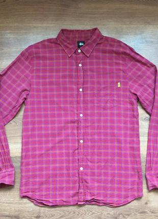Классная рубашка stussy