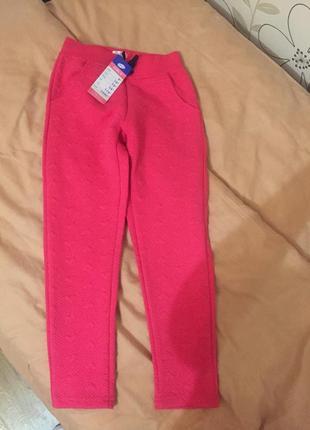 Штани рожеві, нові. фірма pepco . розмір 116 , 5-6 років