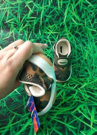 Текстильные крутыши кроссовки от тм. apawwa для мальчиков