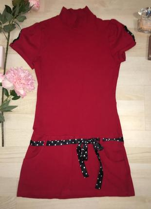 Милое платье с чуть заниженной талией