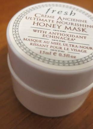 Медовая маска  fresh  creme ancienne  ultimate nourishing honey mask  15ml