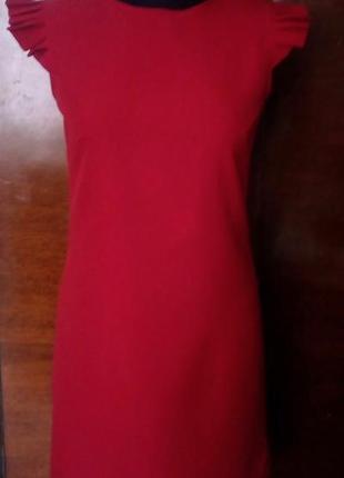 Новое красное платье с рукавами крылья, разные размеры и цвета