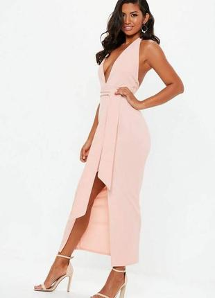 Красивое платье макси от missguided
