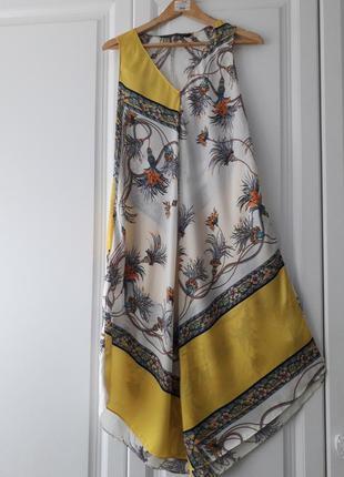Легкое платье  zara в красивейшей расцветке