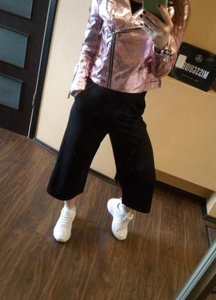 Крутая куртка металлик розовая от missguided6 фото