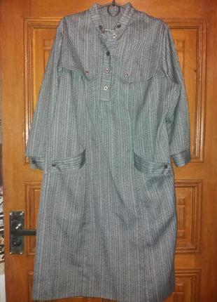 Плаття шерстяне міді великий розмір