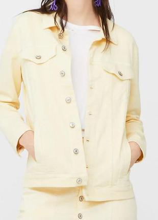 Легкая куртка, коттон, джинсовая, пиджак, курточка оригинал mango s 8 44