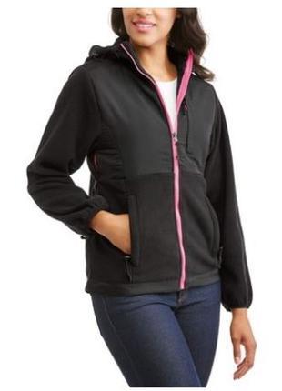 Теплая куртка-толстовка флис демисезон soft shell софтшелл, apparel, разм. m 10 46