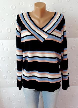 Красивый стильный свитер