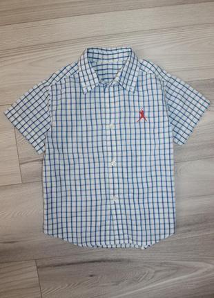 Модная рубашка 4-5 л
