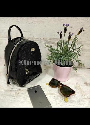 Блестящий рюкзак от david jones cm3983t черный
