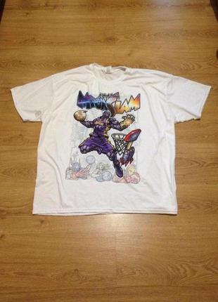 Стильная яркая футболка / gildan / 3 xl