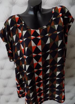 Шикарная  блуза большого размера, батал
