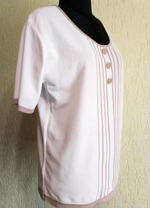 Стильный джемпер из гладкого полотна от daxon, кофта с пуговицами,футболка3 фото