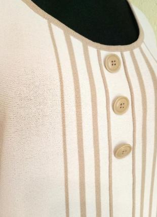 Стильный джемпер из гладкого полотна от daxon, кофта с пуговицами,футболка4 фото