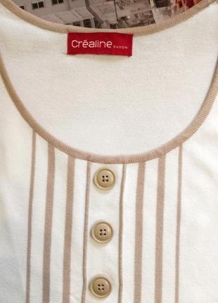 Стильный джемпер из гладкого полотна от daxon, кофта с пуговицами,футболка6 фото