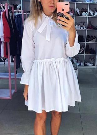 Стильное платье рубашка! скидка!!!1 фото