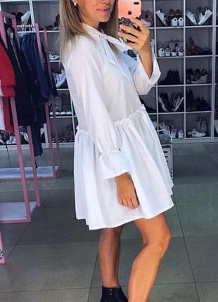 Стильное платье рубашка! скидка!!!2 фото